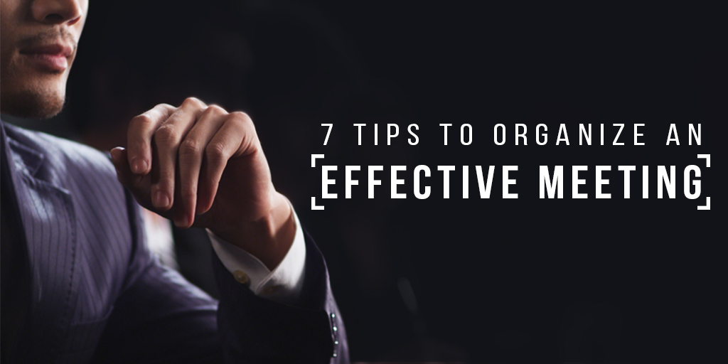 organize-an-effective-meeting